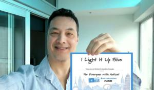 Light up in support of Autism Awareness