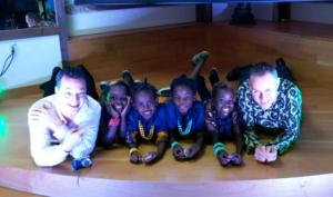 Brother Darren and I and the Watoto Children