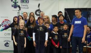 Canucks Autism Network choir - just awesome