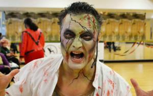 robin mc zombie - incredible event in support of the local food bank..