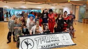 Our awesome zombie crew for Thrill the World..