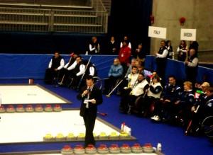 MC Wheelchair Curling